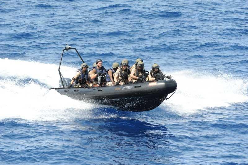 Tercio Sur Infantería de Marina lancha