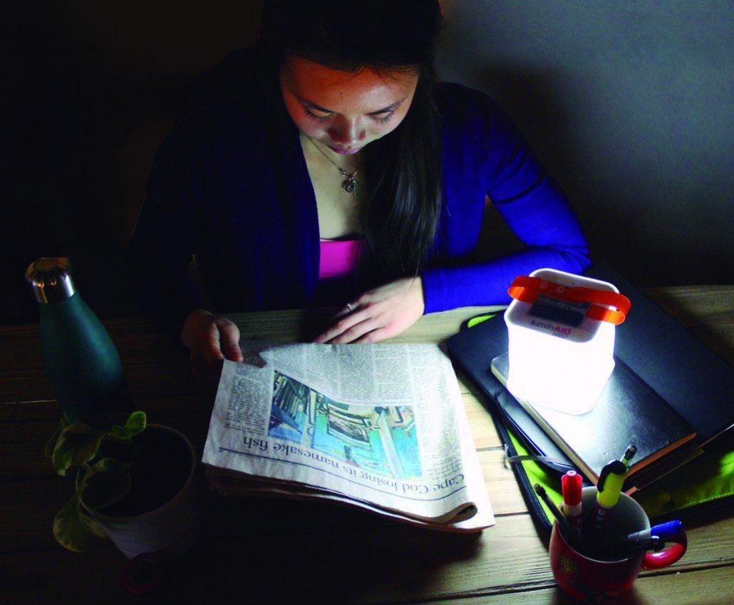 LuminAid solar lectura
