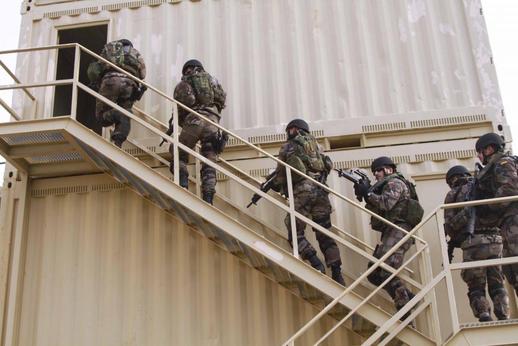 Tercio Sur Infantería de Marina torre entrenamiento