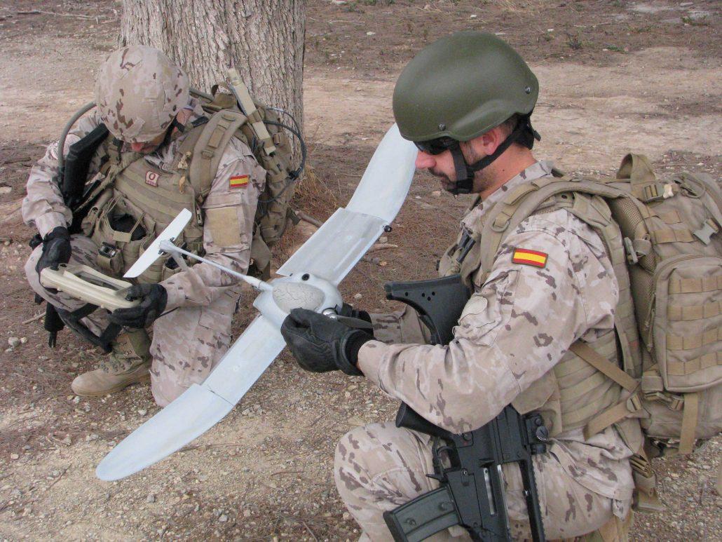 Operaciones Especiales drones