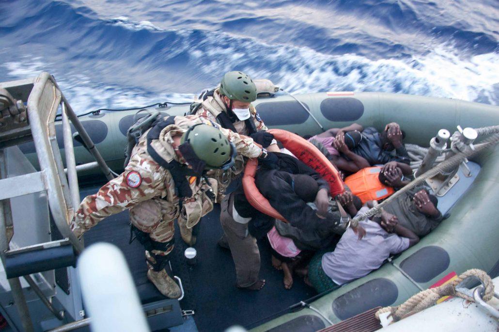 Tercio Sur Infantería de Marina rescates