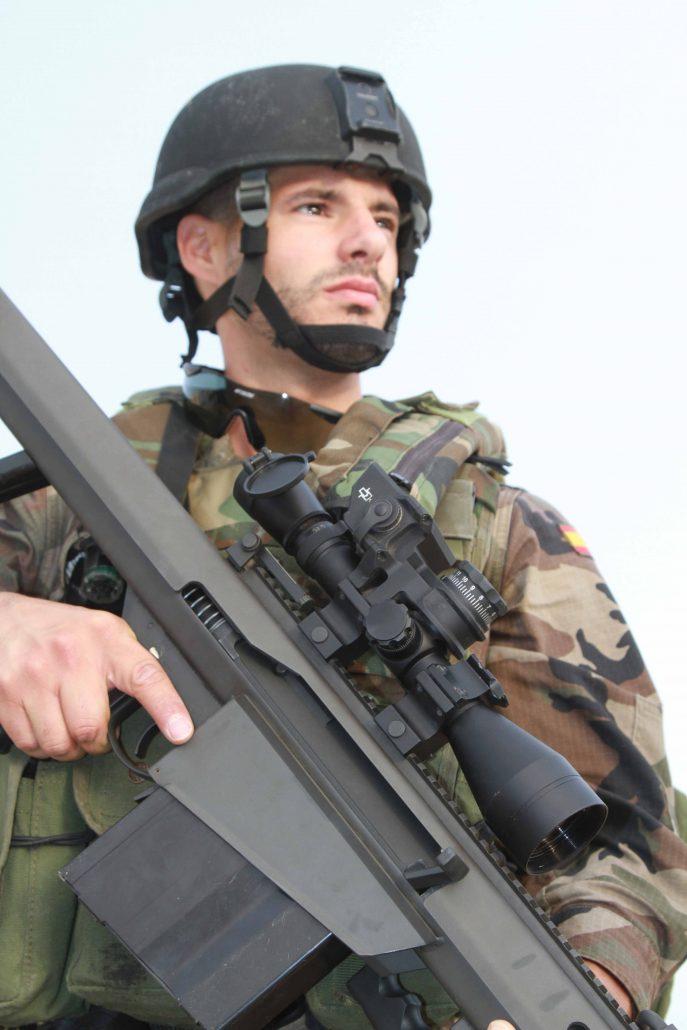 Tercio Sur Infantería de Marina tirador