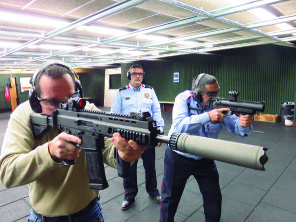 Unidad de Armas Mossos d'Esquadra
