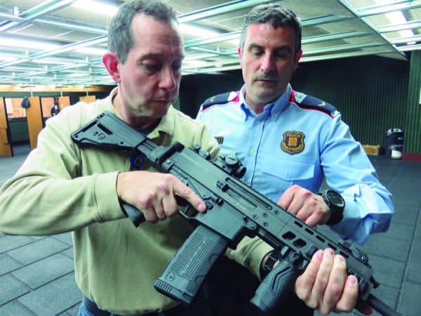 Unidad de armas de Mossos d'Esquadra