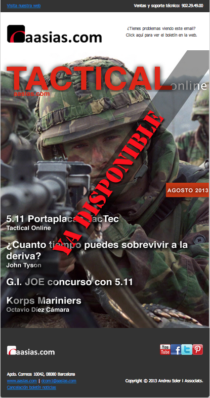 Tactical Online Agosto 2013 ya disponible