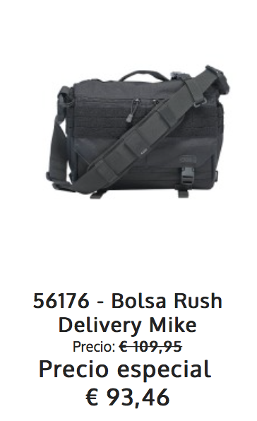 Oferta 5.11 Rush Delivery Mike