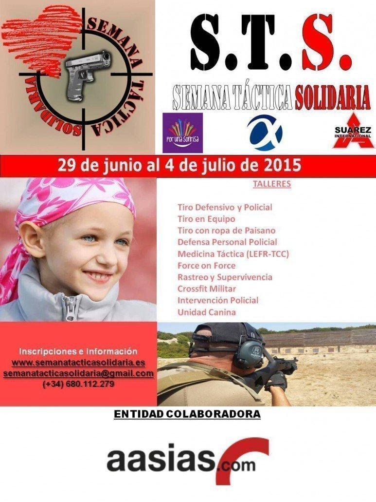 Cartel de la Semana Táctica Solidaria STS
