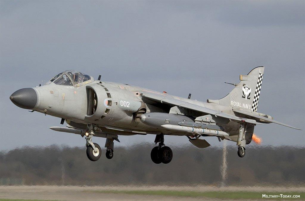 Avión Sea Harrier
