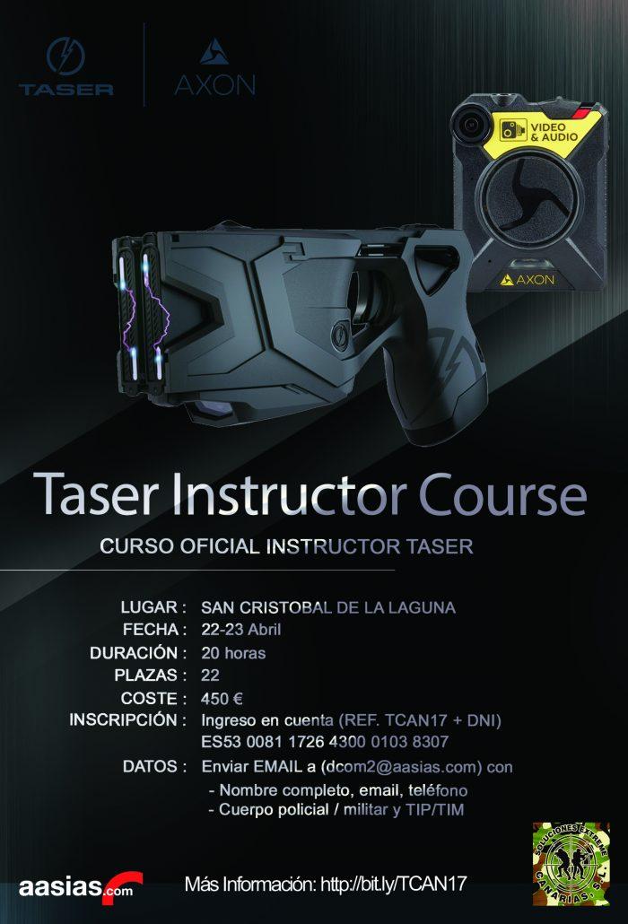 Curso Instructor Taser La Laguna Abril 17