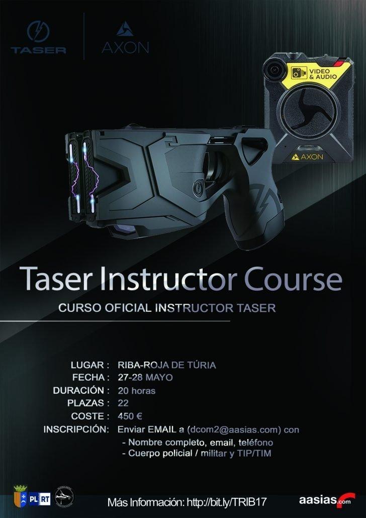 Curso Instructor Taser Ribarroja 17