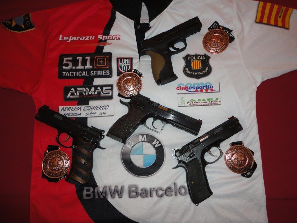 Camiseta equipo tiro Mossos d'Esquadra