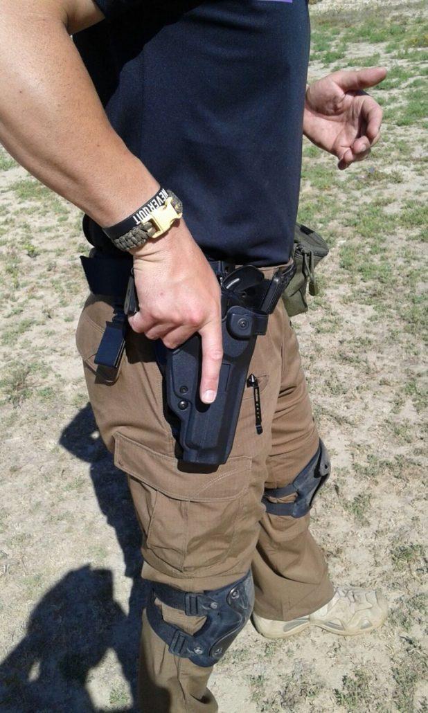 Funda antihurto Beretta 92
