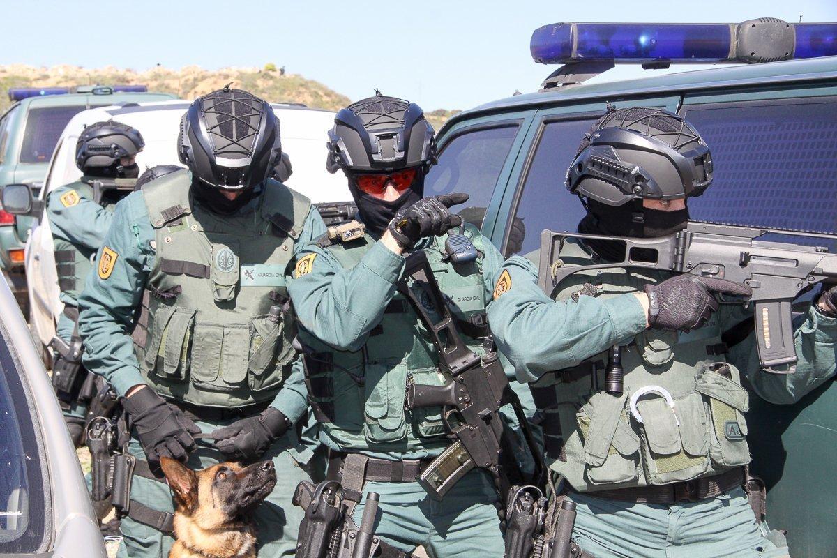 GAR Guardia Civil Equipo Táctico de Respuesta y Rescate