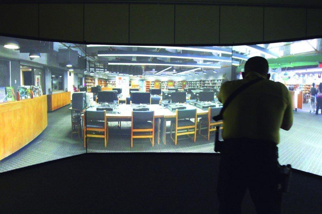 Simulador de Tiro inmersión V300 VirTra