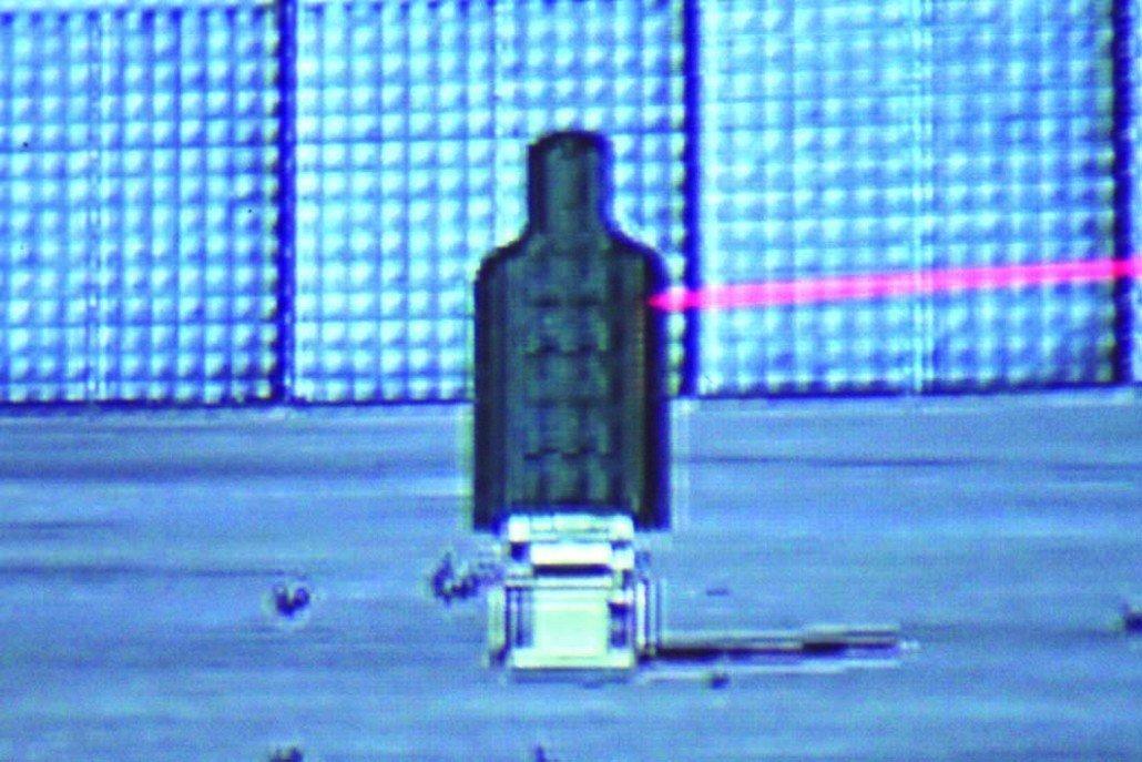 Simulador de tiro blancos