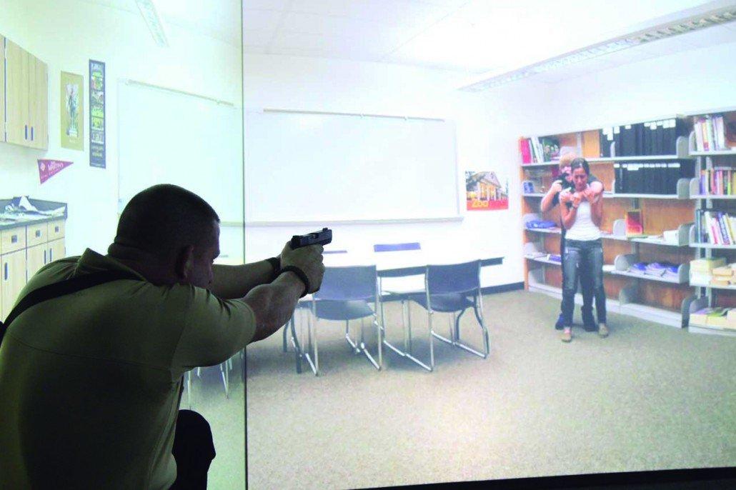 Simulador de tiro situación real VirTra
