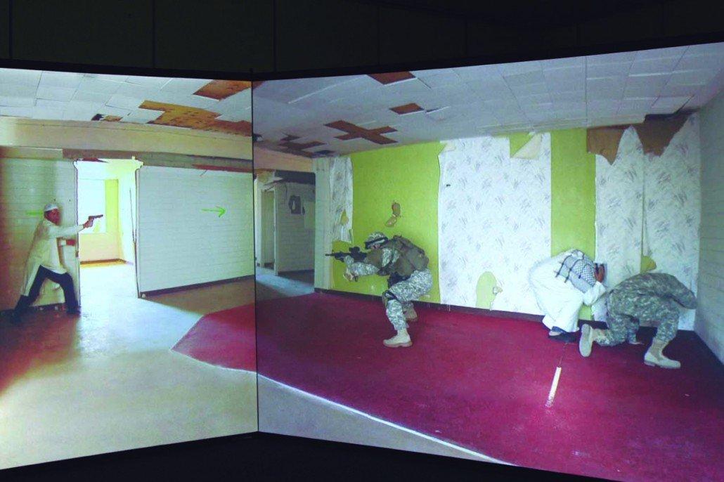Simulador de tiro imagen real VirTra