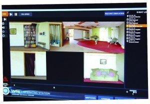 Simulador de tiro pantalla de control