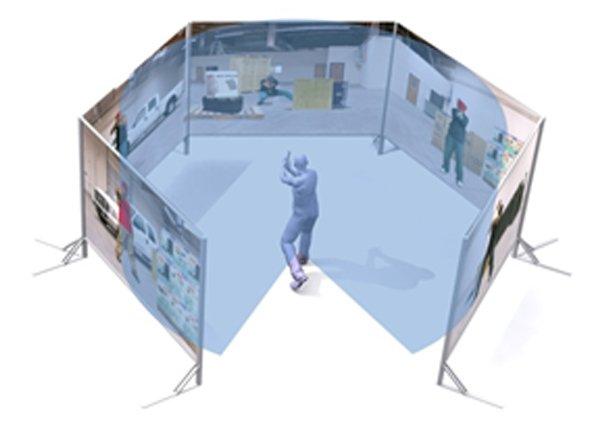 Simulador de tiro inmersión total VirTra