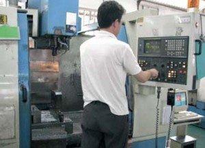 Fabricación de los pies de muestra