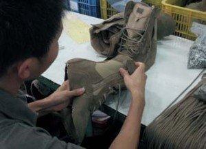 Colocación de cordones e inspección visual