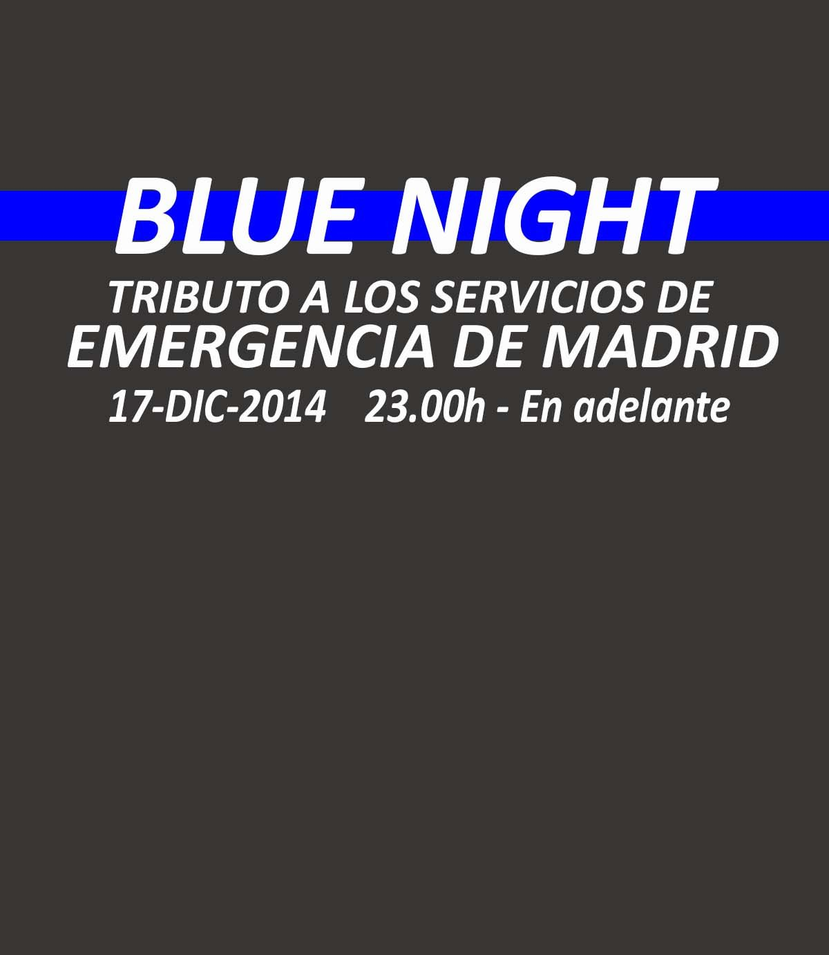 Blue Night – Una noche muy especial