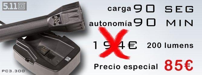 Precio especial linterna 5.11 PC 3.300