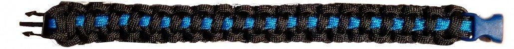 Pulsera delgada línea azul
