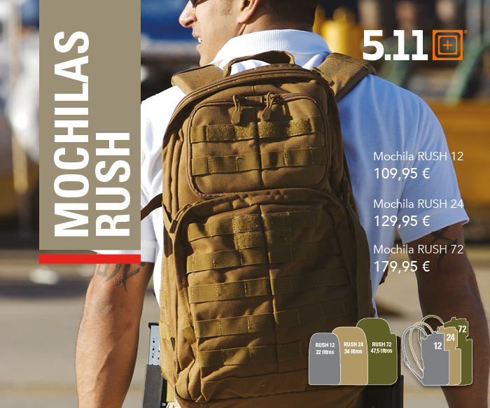 Mochilas RUSH 5.11 Tactical