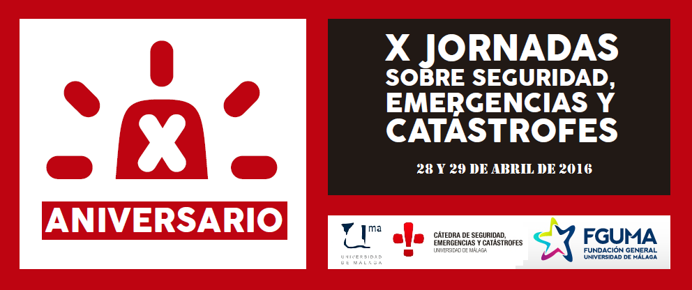 X Jornadas seguridad y emergencias málaga